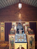 A view of the inside of<br>St. Elizabeths during a recent<br>visit of the Kursk-Root Icon