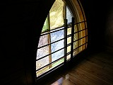 A Choir Loft Window.